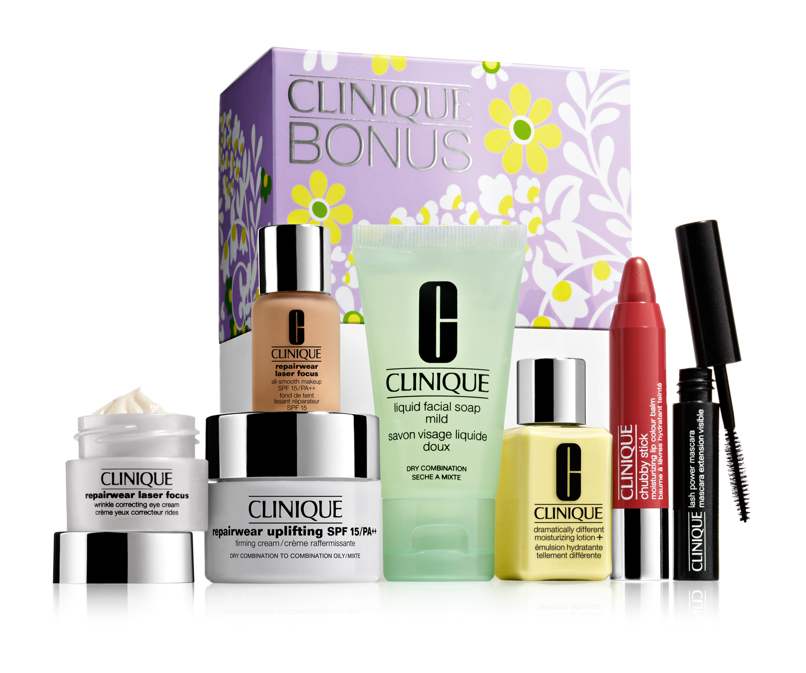 Travel around the world with great gifts from clinique for Where is clinique made